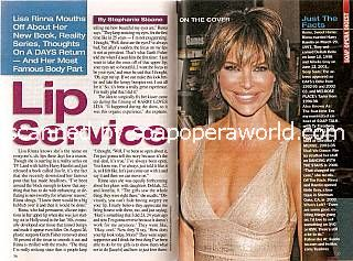 Interview with Lisa Rinna (ex-Billie on Days Of Our Lives)