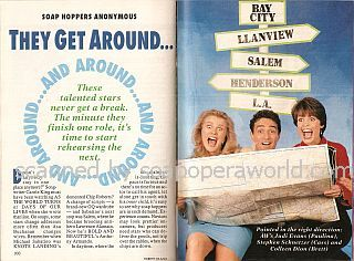 Soap Hoppers Anonymous featuring Judi Evans, Stephen Schnetzer & Colleen Dion (Paulina, Cass & Brett on Another World)