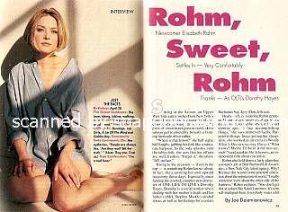 Elisabeth Rohm (Dorothy, OLTL)