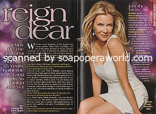Interview with Katherine Kelly Lang (Brooke on The Bold and The Beautiful)