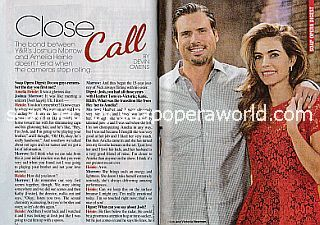 Interview with Joshua Morrow and Amelia Heinle (Nick and Victoria Newman on The Young and The Restless)