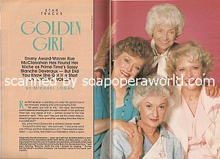 Interview with Rue McClanahan (Blanche Deveraux on The Golden Girls)