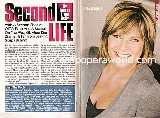 Interview with Kim Zimmer (Echo DiSavoy on OLTL)