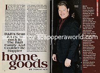 Interview with Sean Kanan (Deacon on CBS soap opera, The Bold and The Beautiful)