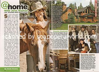 At Home With Jess Walton (Jill on the soap opera, The Young & The Restless)
