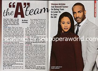 Interview with Vinessa Antoine & Donnell Turner (Jordan and Curtis on General Hospital)