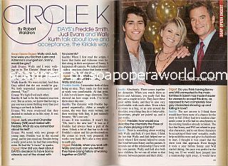 Interview with Freddie Smith, Judi Evans & Wally Kurth (Sonny, Adrienne & Justin on Days Of Our Lives)
