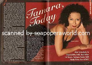 Tamara Tunie (Jessica, ATWT)