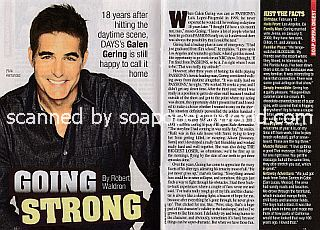 Interview with Galen Gering (Rafe Hernandez on Days Of Our Lives)