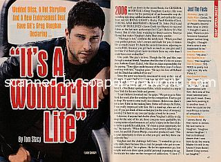 Interview with Greg Vaughan (Lucky Spencer on General Hospital)
