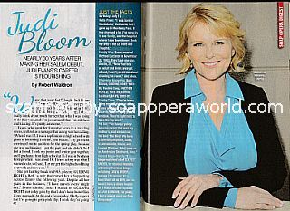 Interview with Judi Evans (Judi plays Adrienne Kiriakis on Days Of Our Lives)