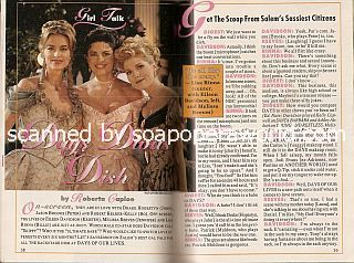 Interview with Eileen Davidson, Lisa Rinna & Melissa Reeves (Kristen, Billie & Jennifer on the soap opera, Days Of Our Lives)