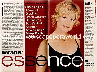 Mary Beth Evans played the role of Sierra on ATWT