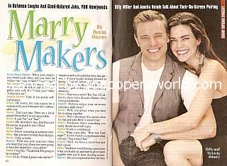 Interview with Billy Miller & Amelia Heinle (Billy & Victoria on The Young and The Restless)