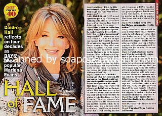 Interview with Deidre Hall (Marlena on Days Of Our Lives)