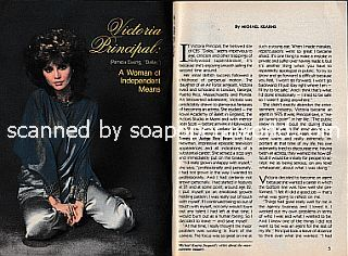 Interview with Victoria Principal (Pamela Ewing on the primetime soap, Dallas)