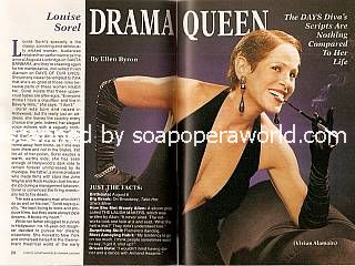 Interview with Louise Sorel (Vivian Alamain on Days Of Our Lives)