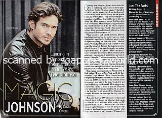 Interview with Tyler Johnson (Theo Vanderway on The Young and The Restless)