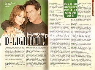 Interview with Deidre Hall & Drake Hogestyn (Marlena & John on Days Of Our Lives)