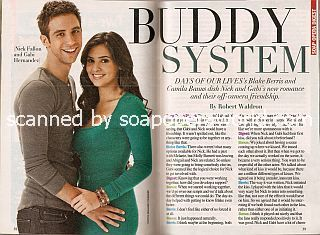 Interview with Blake Berris & Camila Banus (Nick and Gabi on Days Of Our Lives)