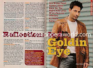 Interview with Ricky Paull Goldin (Gus on the CBS soap opera, Guiding Light)