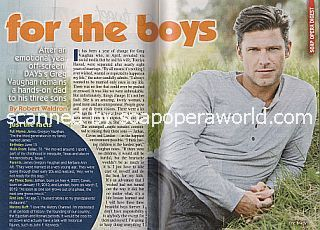 Interview with Greg Vaughan (Eric on the NBC soap opera, Days Of Our Lives)
