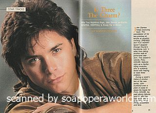 Interview with John Stamos (ex-Blackie, General Hospital)