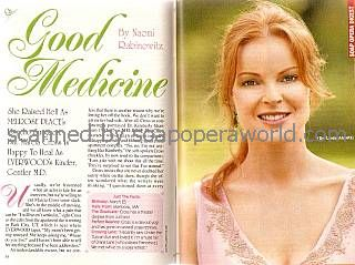 Marcia Cross (Dr. Linda Abbott, EVERWOOD)