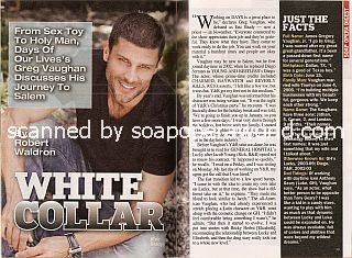 Interview with Greg Vaughan (Eric Brady on Days Of Our Lives)