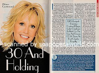 Interview with Leslie Charleson (Monica Quartermaine on the ABC soap, General Hospital)