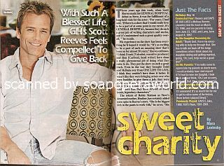 Interview with Scott Reeves (Steve Webber on General Hospital)