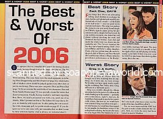 The Best & Worst of 2006 by Soap Opera Digest