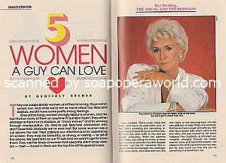 5 Women A Guy Can Love featuring Jeanne Cooper of The Young and The Restless
