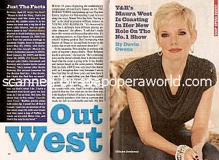 Interview with Maura West (Diane on Y&R)