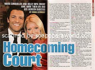 Mark Consuelos & Kelly Ripa (ex-Mateo & Hayley, AMC)