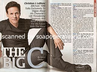 Interview with Christian LeBlanc (Michael Baldwin on The Young & The Restless)