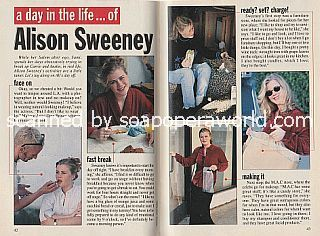 A Day In The Life of Alison Sweeney (Sami on Days Of Our Lives)