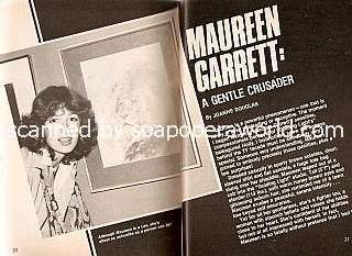 Maureen Garrett of Guiding Light
