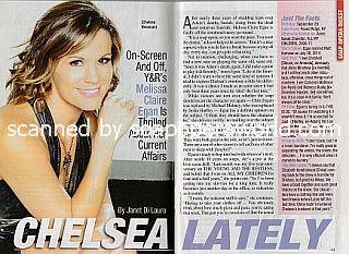 Interview with Melissa Claire Egan (Chelsea Newman on The Young and The Restless)