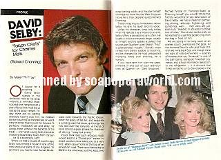 David Selby played the role of Richard Channing on Falcon Crest