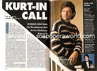 Interview with Kurt McKinney (Matt Reardon on Guiding Light)