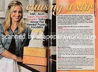 Interview with AMC alum Sarah Michelle Gellar (ex-Kendall on All My Children)