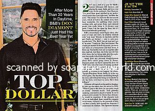 Interview with Don Diamont (Bill Spencer on The Bold and The Beautiful)