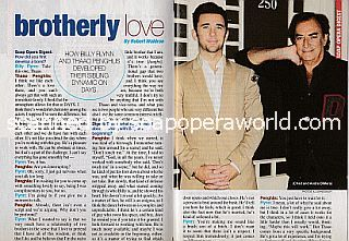 Interview with Billy Flynn and Thaao Penghlis (Chad and Andre DiMera on Days Of Our Lives)