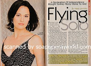 Interview with Sydney Penny (Julia on the ABC soap opera, All My Children)