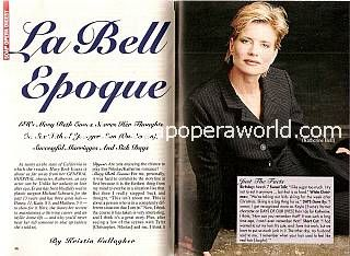 Interview with Mary Beth Evans (Katherine on General Hospital)