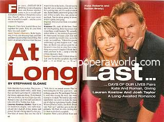 Interview with Lauren Koslow & Josh Taylor (Kate and Roman on Days Of Our Lives)