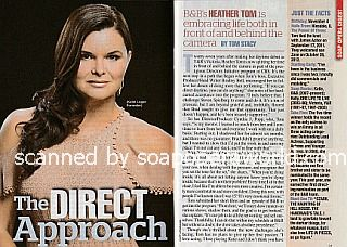 Interview with Heather Tom (Katie Logan Forrester on The Bold and The Beautiful)