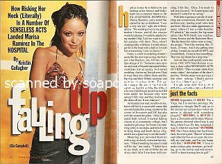 Interview with Marisa Ramirez (Gia Campbell on the soap opera, General Hospital)