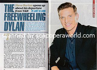 Interview with Steve Burton (Steve played Dylan on The Young and The Restless)